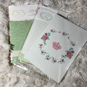 3piece set of note accessories